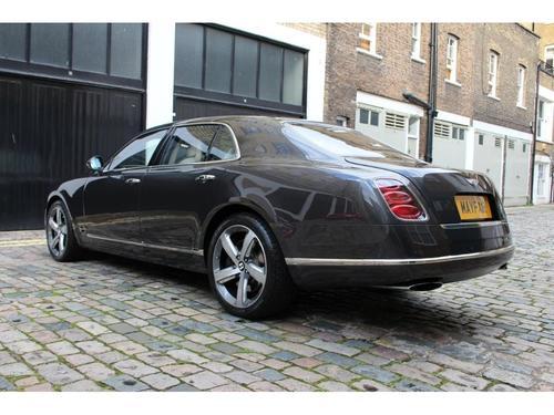 Bentley Mulsanne doors