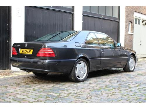 Mercedes-Benz CL back