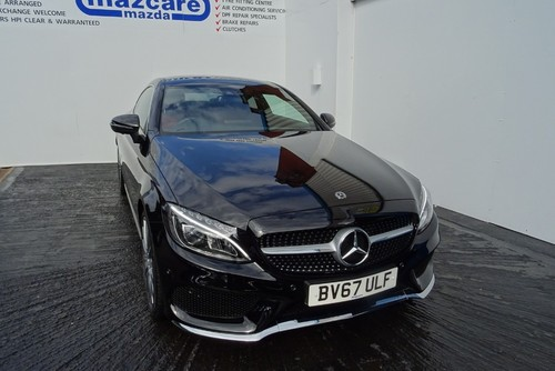 Used Mercedes Benz C Class C250 Amg Line Premium Plus On Finance In