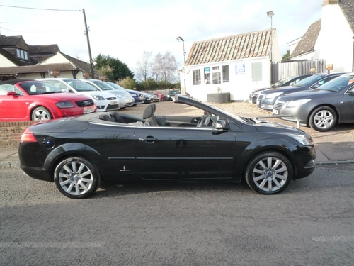 used ford focus cc cc-2 on finance in bedford £80.28 per month no