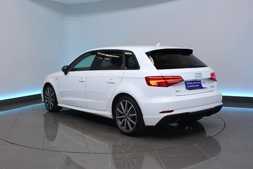 used audi a3 1.0 tfsi black edition sportback s tronic s s 5dr on