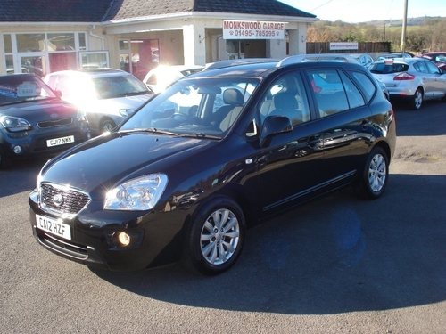 Used kia carens gdi 2 on finance in monmouthshire for Garage kia ales