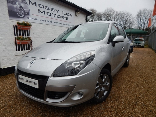 Used renault scenic in greater manchester on finance from for Mossy motors used cars