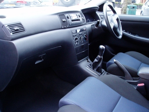 used toyota corolla vvt i colour collection on finance in