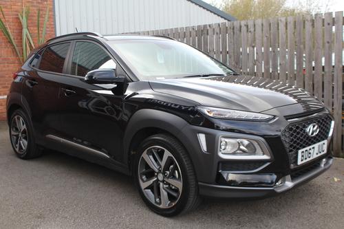 Mercedes Of Birmingham >> Used Hyundai KONA 1.0 PREMIUM on Finance in Birmingham £364.28 per month no deposit