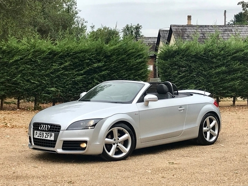 Used Audi TT TD S Line Special Edition Roadster On Finance In Slough - Used audi tt convertible
