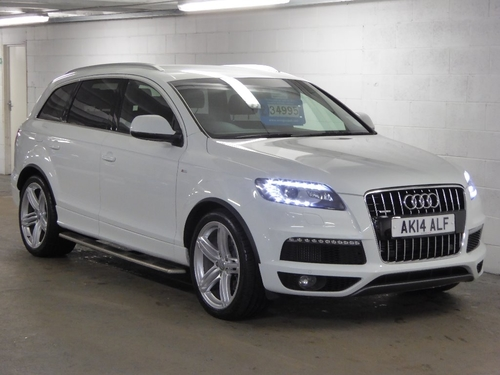 Used Audi Q TDI S Line Plus Tiptronic Quattro On Finance In - Audi q7