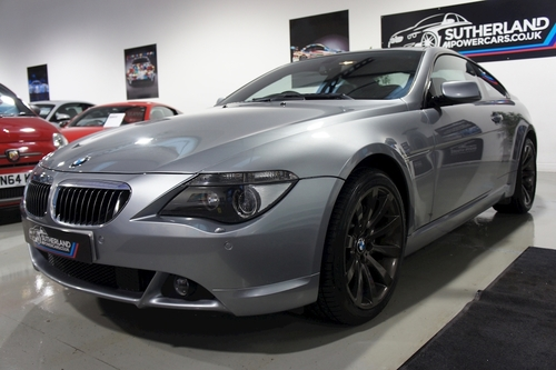 Bmw 6 Series Front