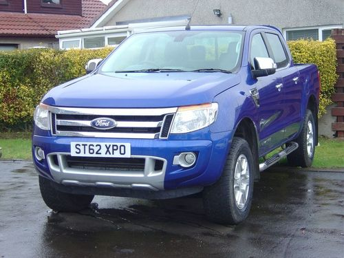 Used Ford Ranger 2 2 Limited 4x4 Dcb On Finance In