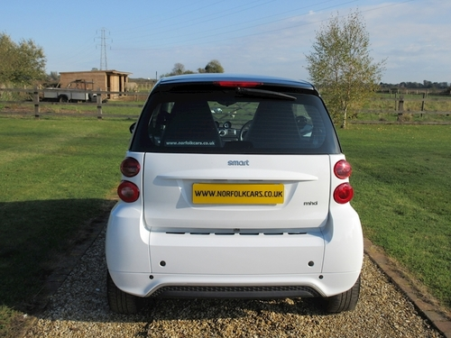 Smart Fortwo Coupe Pion Auto On Finance In King S Lynn