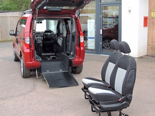 used fiat qubo 1.3 multijet dynamic 5dr on finance in leicester