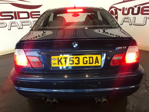 Used Bmw M3 M3 On Finance In Sunderland 163 230 68 Per Month