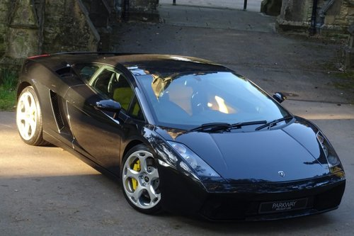 Used Lamborghini Gallardo V10 Manual Coupe On Finance In Mansfield