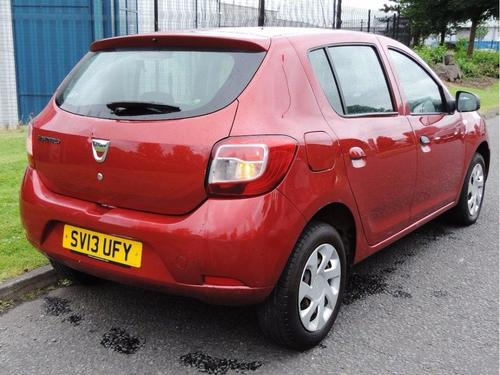 Used Dacia SANDERO Laureate on Finance in Glasgow £69.10 per month ...