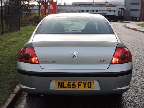 Gmc Accessories Glasgow >> Used Peugeot 407 HDi S on Finance in Glasgow £50 per month no deposit