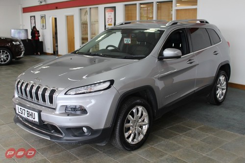 2017 Jeep Cherokee Accessories >> Used Jeep Cherokee 2 2 M Jet Ii Limited 5dr On Finance In St