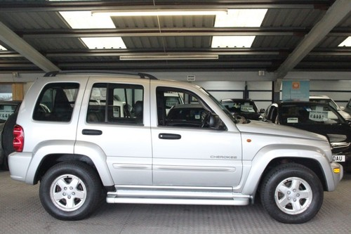 Used Jeep Cherokee 2 5 Limited Crd 5d On Finance In Blyth Per Month No Deposit