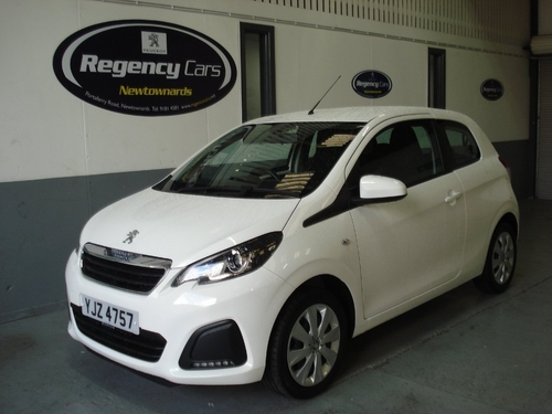 used peugeot 108 1.0 active on finance in newtownards £142.92 per