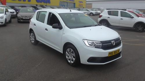 used dacia sandero 5dr hat 1 0 sce 75 ambiance on finance in per month no deposit. Black Bedroom Furniture Sets. Home Design Ideas