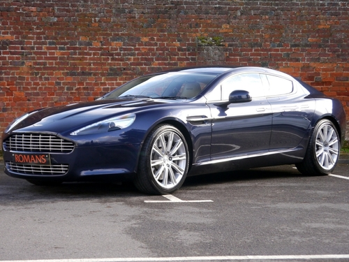 Used Aston Martin RAPIDE V TOUCHTRONIC On Finance In St - Used aston martin rapide