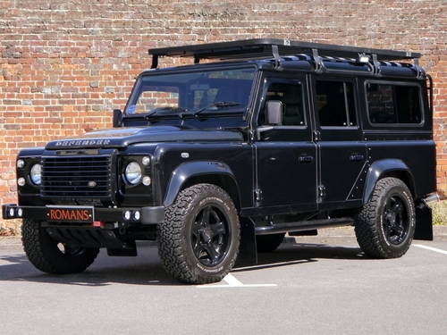 Used land rover defender on finance from 50 per month no for Baker motor company land rover