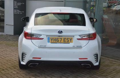 Used Lexus Rc 2 5 F Sport On Finance In 163 761 09 Per Month