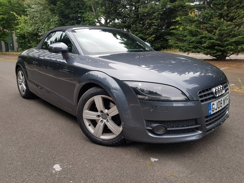 Used Audi Tt Tfsi Exclusive Line Roadster On Finance In border=