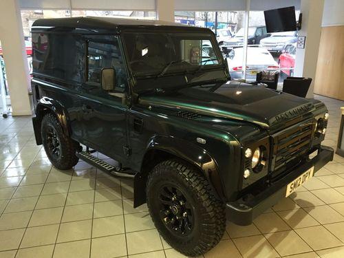 Used Land Rover Defender 90 2 2 Td Hard On Finance In