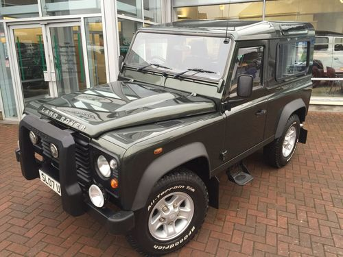 Used Land Rover Defender 90 2 4 90 Station On Finance In