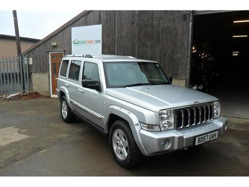 used jeep commander crd v6 limited 4x4 on finance in wetherby