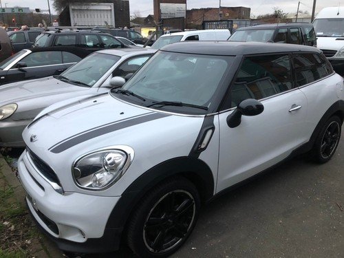 used mini paceman in south yorkshire on finance from 50. Black Bedroom Furniture Sets. Home Design Ideas