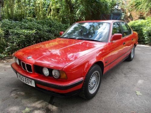 BMW 5 Series seat