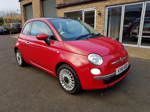 Fiat 500 finance deals used
