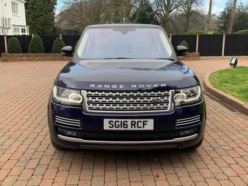 Land Rover Range Rover Blue