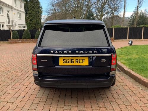 Land Rover Range Rover back