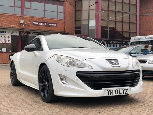 Used Peugeot RCZ On Finance From £50 Per Month No Deposit