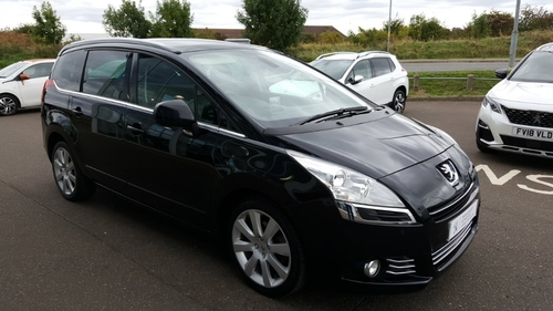 used peugeot 5008 2 0 hdi fap allure 5dr on finance in boston per month no deposit. Black Bedroom Furniture Sets. Home Design Ideas