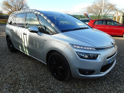 used citroen c4 grand picasso e hdi airdream exclusive on. Black Bedroom Furniture Sets. Home Design Ideas