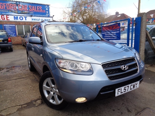 used hyundai santa fe on finance from 50 per month no deposit