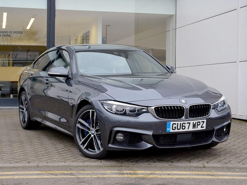 used bmw 4 series 435d xdrive m sport gran coupe on finance in crawley per month no deposit. Black Bedroom Furniture Sets. Home Design Ideas