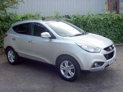 Used Hyundai IX35 1.7 PREMIUM CRDI 5D on Finance in Vulcan Motor ...