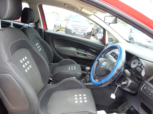 Used Fiat GRANDE PUNTO 16v Sporting on Finance in Peterborough £50 ...