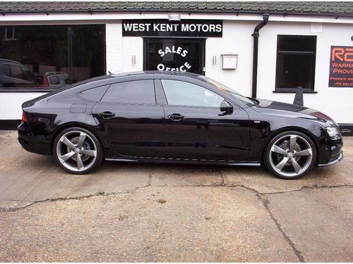 Used Audi A TDI Black Edition Sportback S Tronic Quattro On Finance - Audi 87