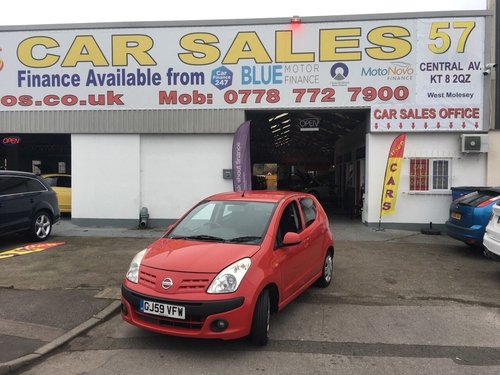 Used nissan pixo n tec on finance in kingston upon thames for West motor company kingston