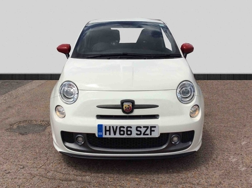 used abarth 500 1 4 t jet competizione 3dr on finance in. Black Bedroom Furniture Sets. Home Design Ideas