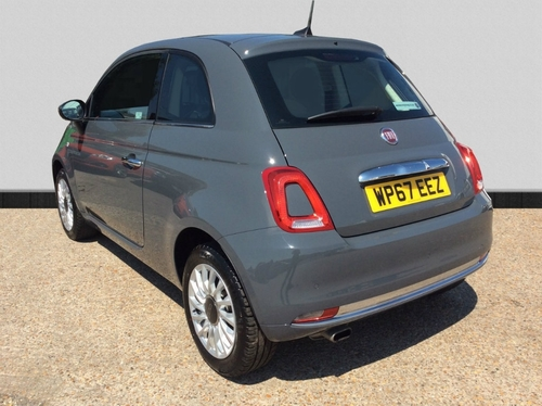 used fiat 500 1 2 lounge hatchback 3dr petrol manual s s. Black Bedroom Furniture Sets. Home Design Ideas